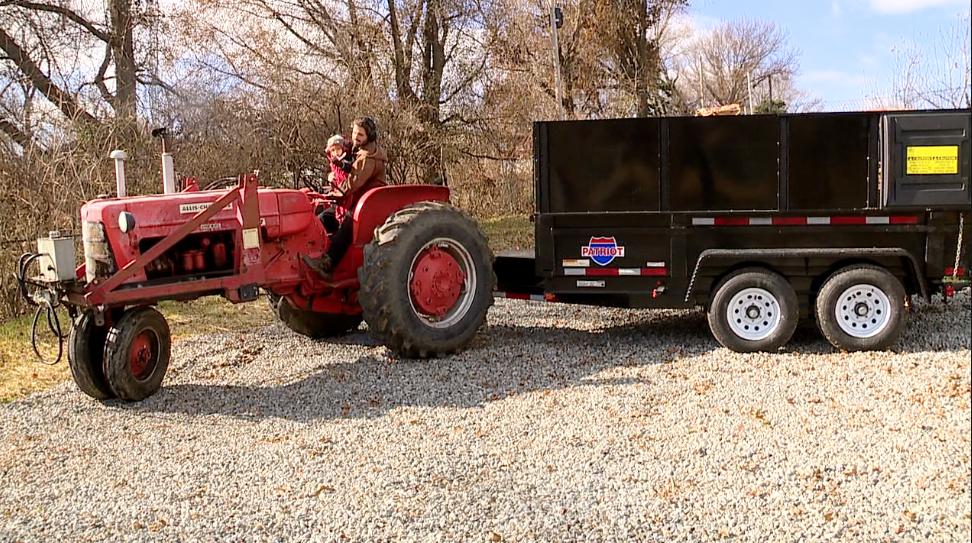 Composting trailer