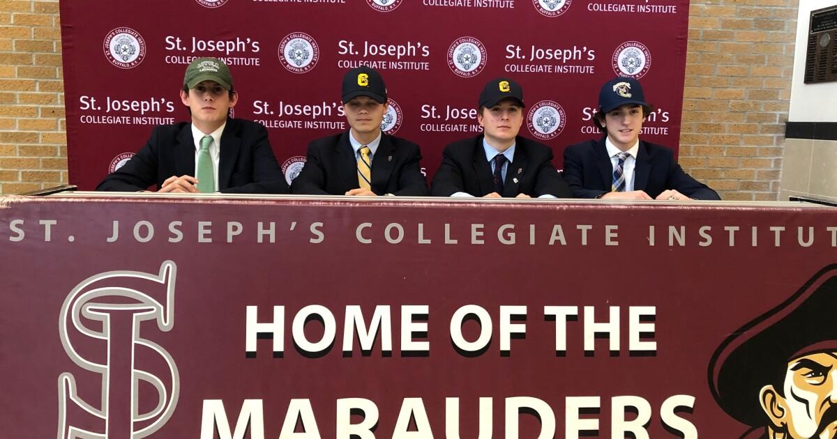 High School Four St. Joe's lacrosse players make collegiate plans Jenna Callari 6:03 PM, Nov - WKBW-TV