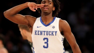 Tyrese Maxey leads No. 2 Kentucky past No. 1 Michigan State