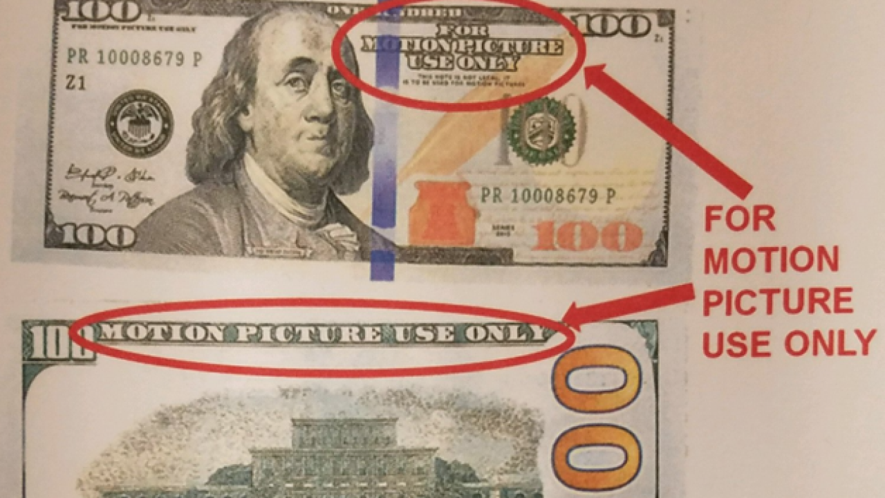 Police in metro Detroit warn of 'funny money' circulation