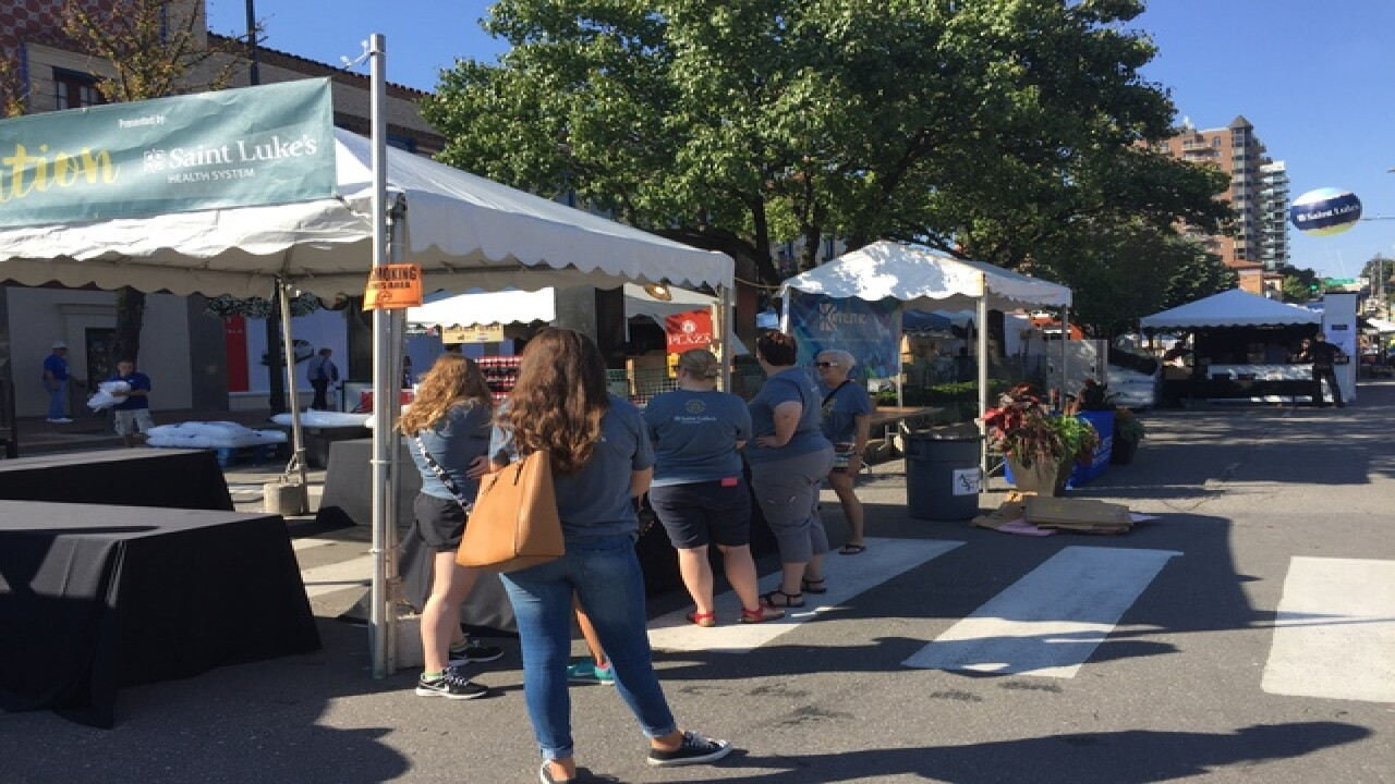 Artists, audiences flock to Plaza Art Fair