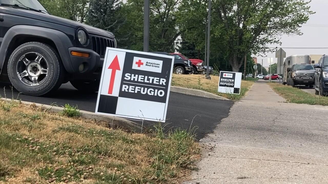 Polson Evacuation Center
