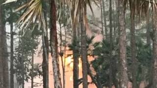 Fires burning in Golden Gate Estates Photos