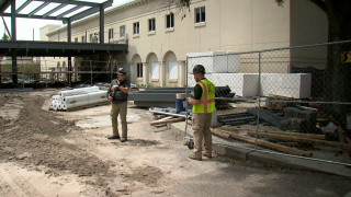 Carrollwood Day School construction