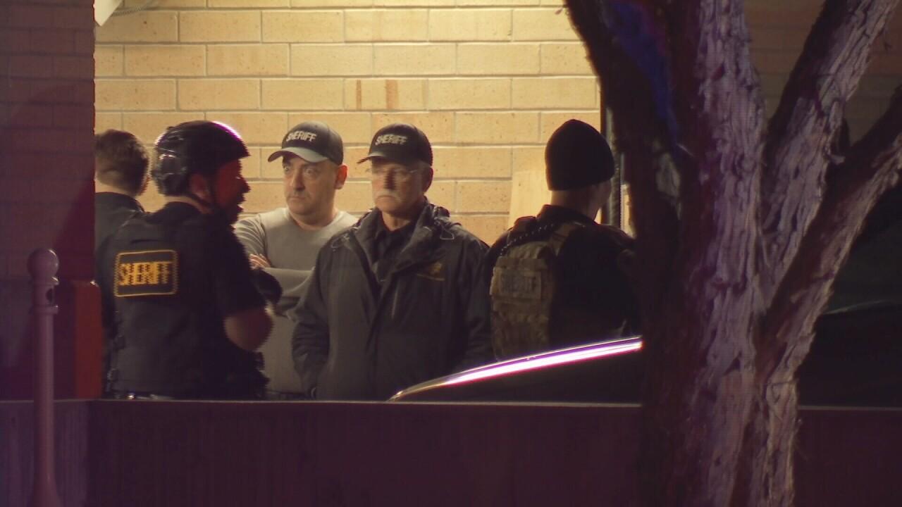 Yellowstone County Sheriff's teams helped secure Hardin jail
