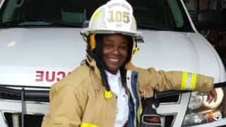 Latosha Clemons, first black female deputy fire chief in Boynton Beach
