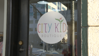 City Kid Boutique door