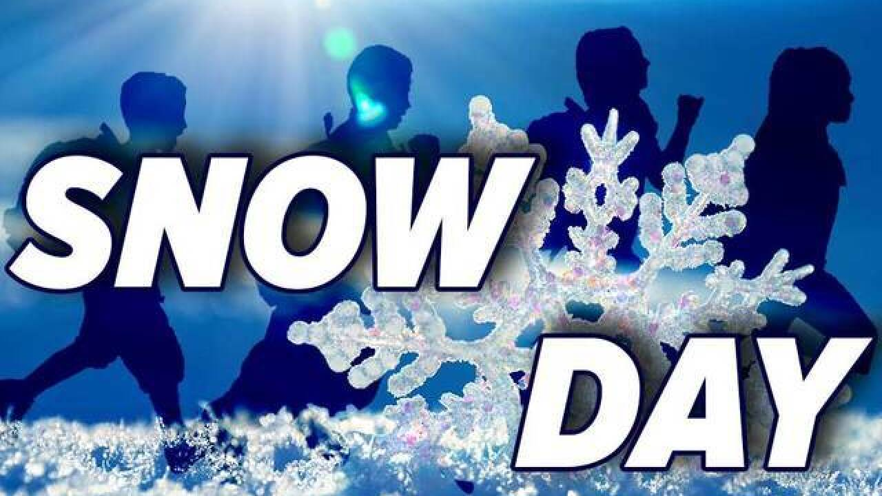 SNOW DAY: School closures for Friday