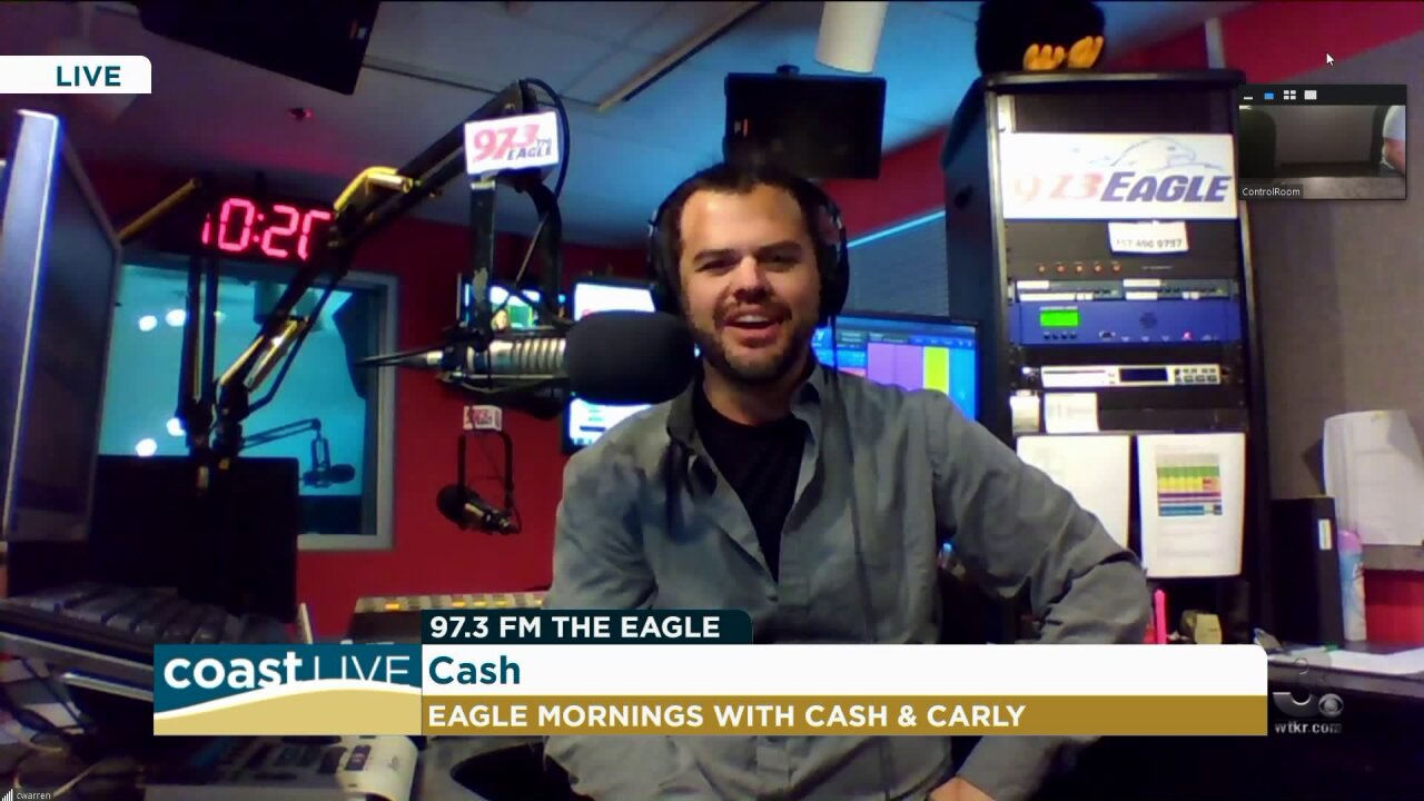 Music news and more from Cash at 97.3 The Eagle on Coast Live