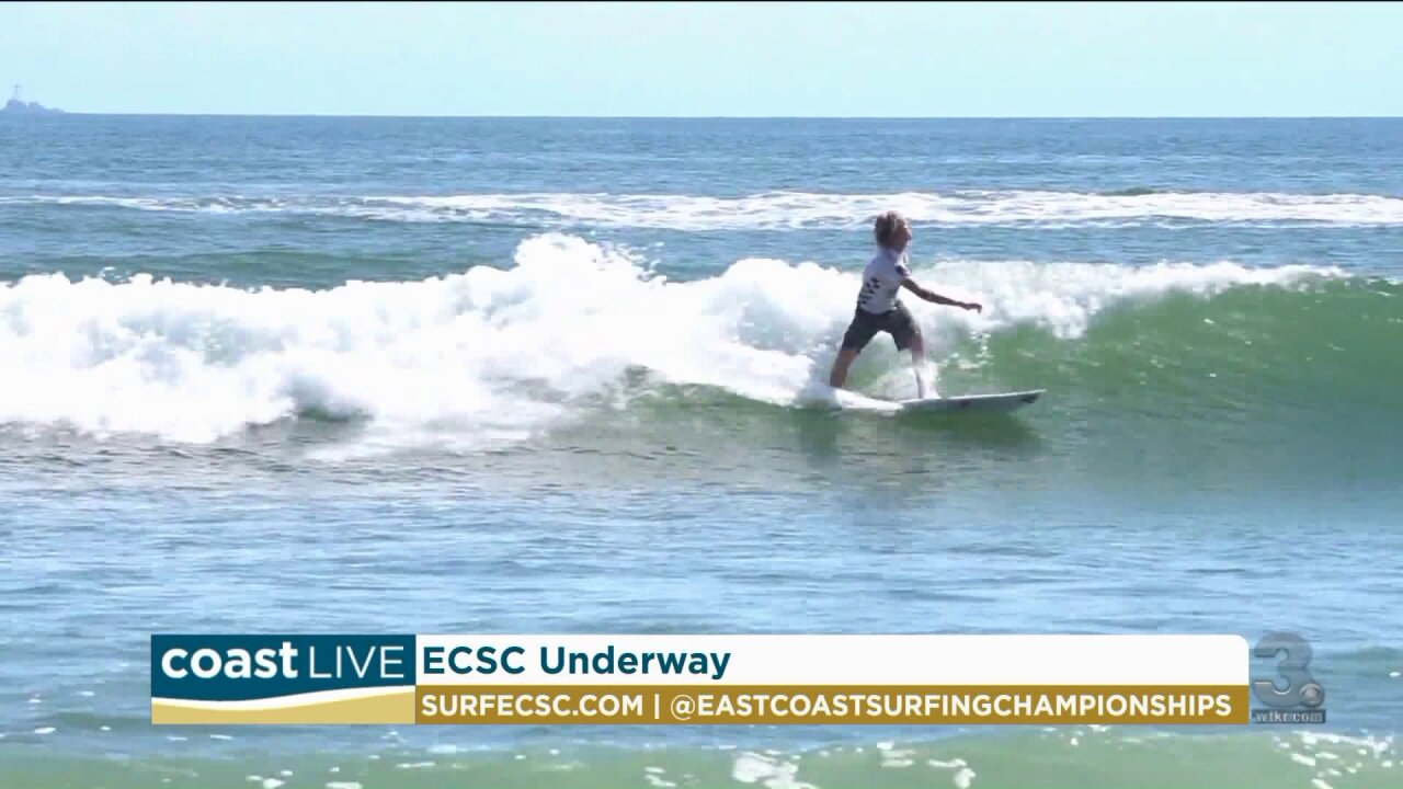 A preview of the 57th East Coast Surfing Championships on Coast Live