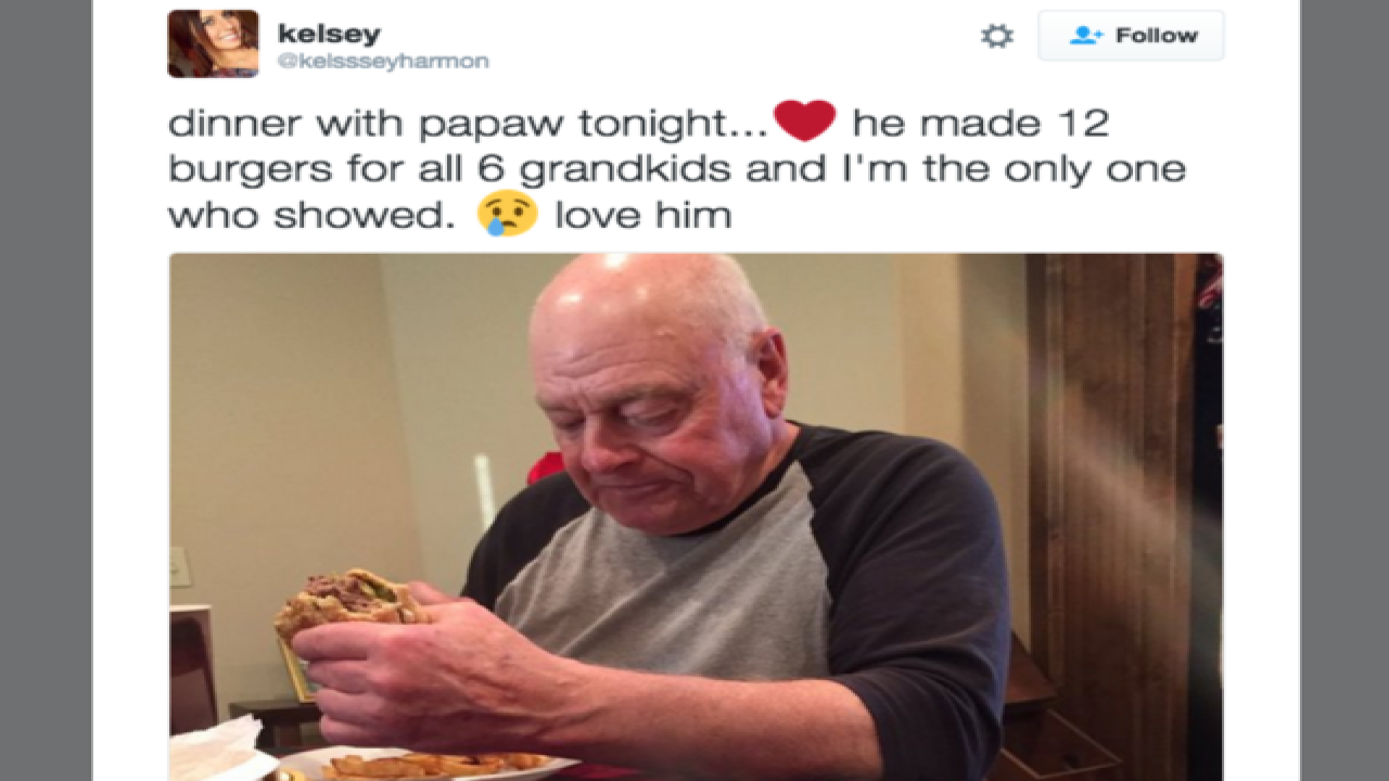 'Papaw' is hosting a cookout and you're invited