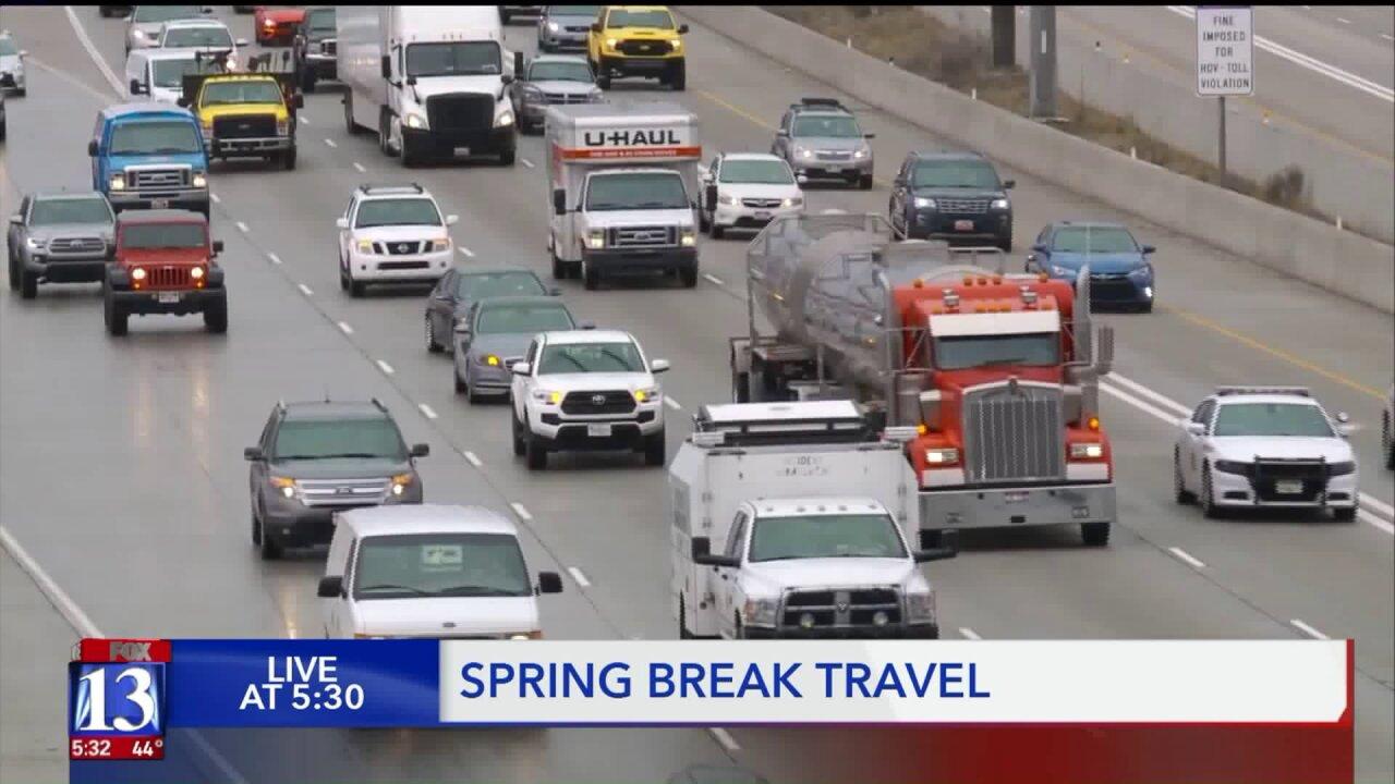 Spring break travel and traffictips