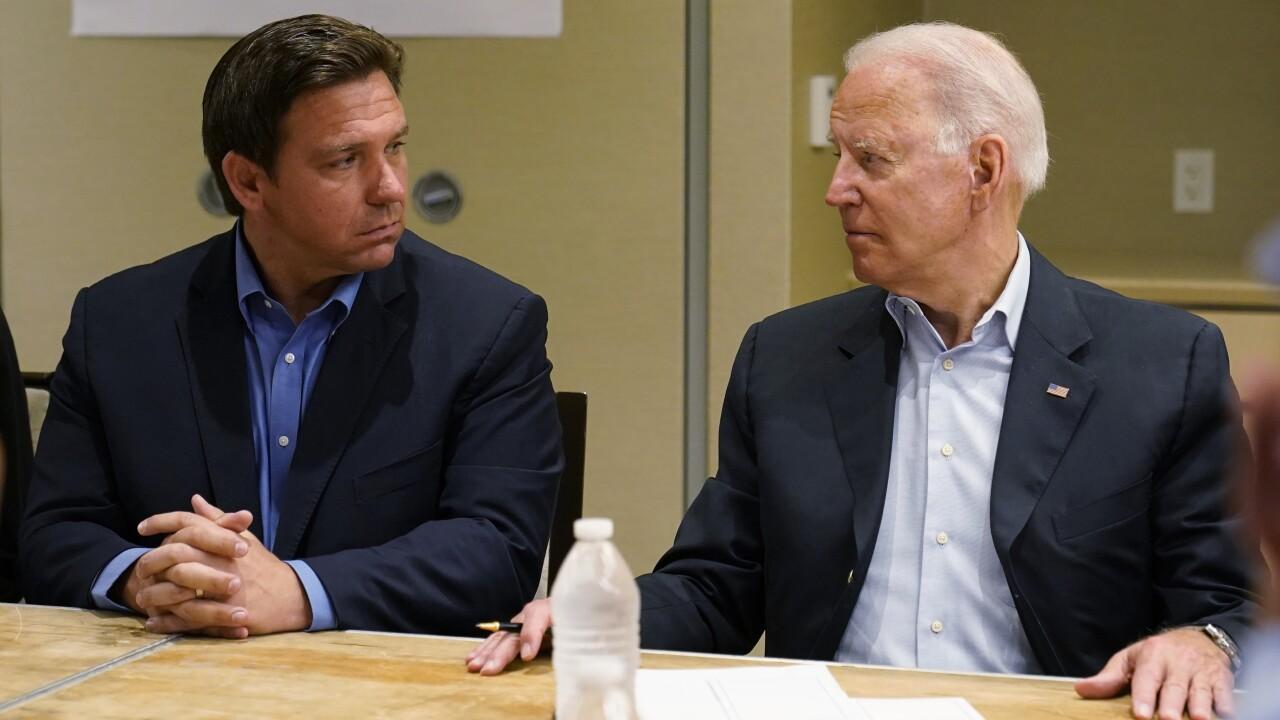 Joe Biden,Ron DeSantis