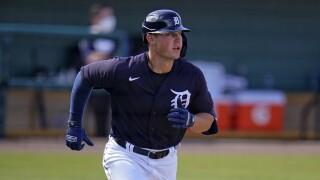 Spencer Torkelson Yankees Tigers Spring Baseball