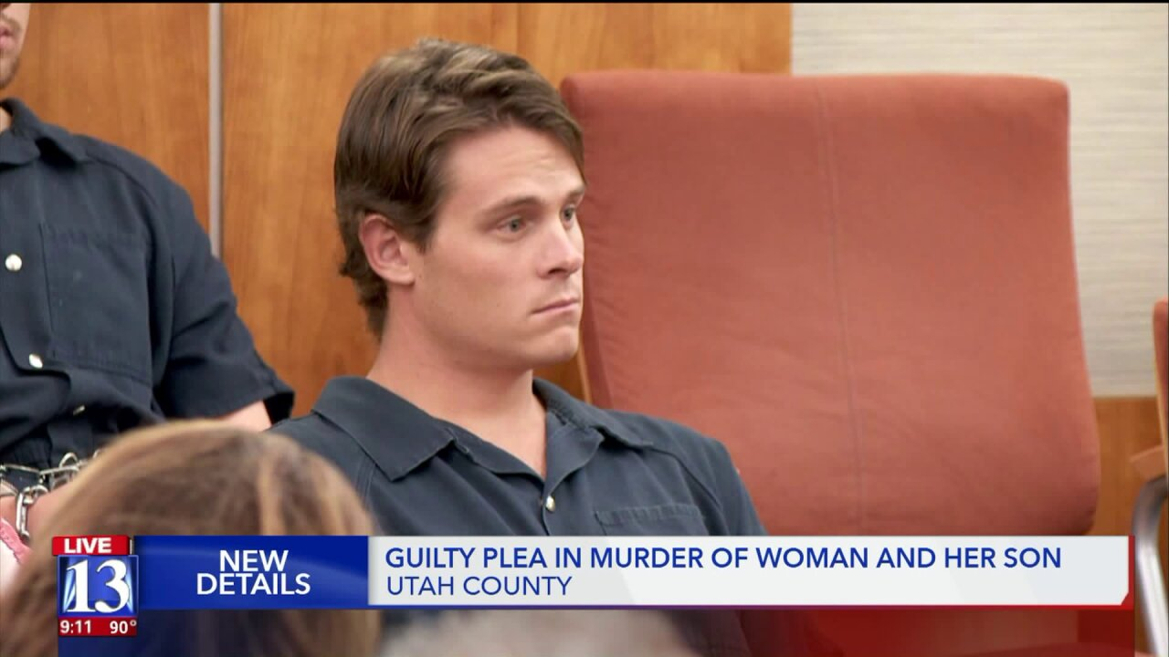 Utah County man pleads guilty to killing girlfriend and herson