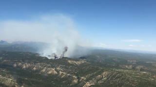 East Canyon Fire_June 14, 2020