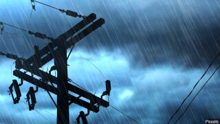 electricity electric power lines powerlines line powerline wire wires outage file photo stock image generic graphic