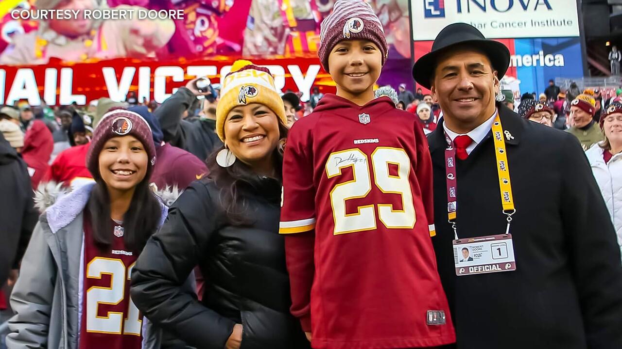 Robert Doore and family