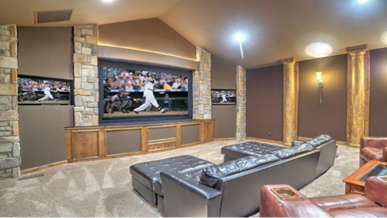 Go inside ex-Rockies' star Todd Helton's estate