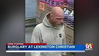 Crime Stoppers: Detectives Investigating Burglary At Lexington Christian Academy