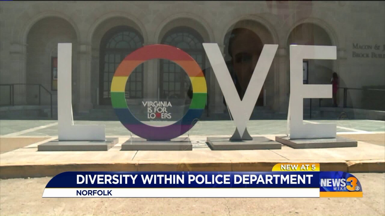 Norfolk Police Department highlights its diverse, inclusive force