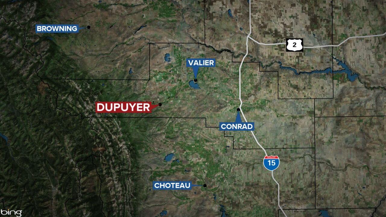 DUPUYER MAP