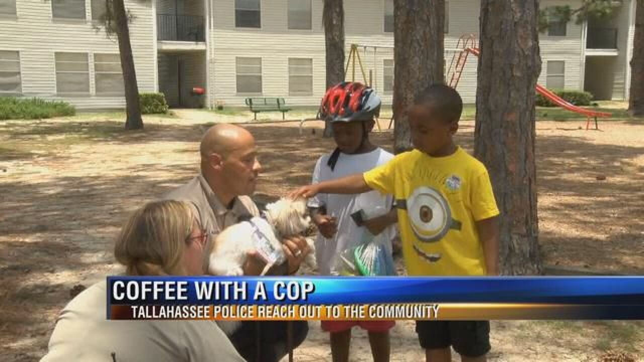 Tallahassee Police Meet with Community Over Cup of Coffee