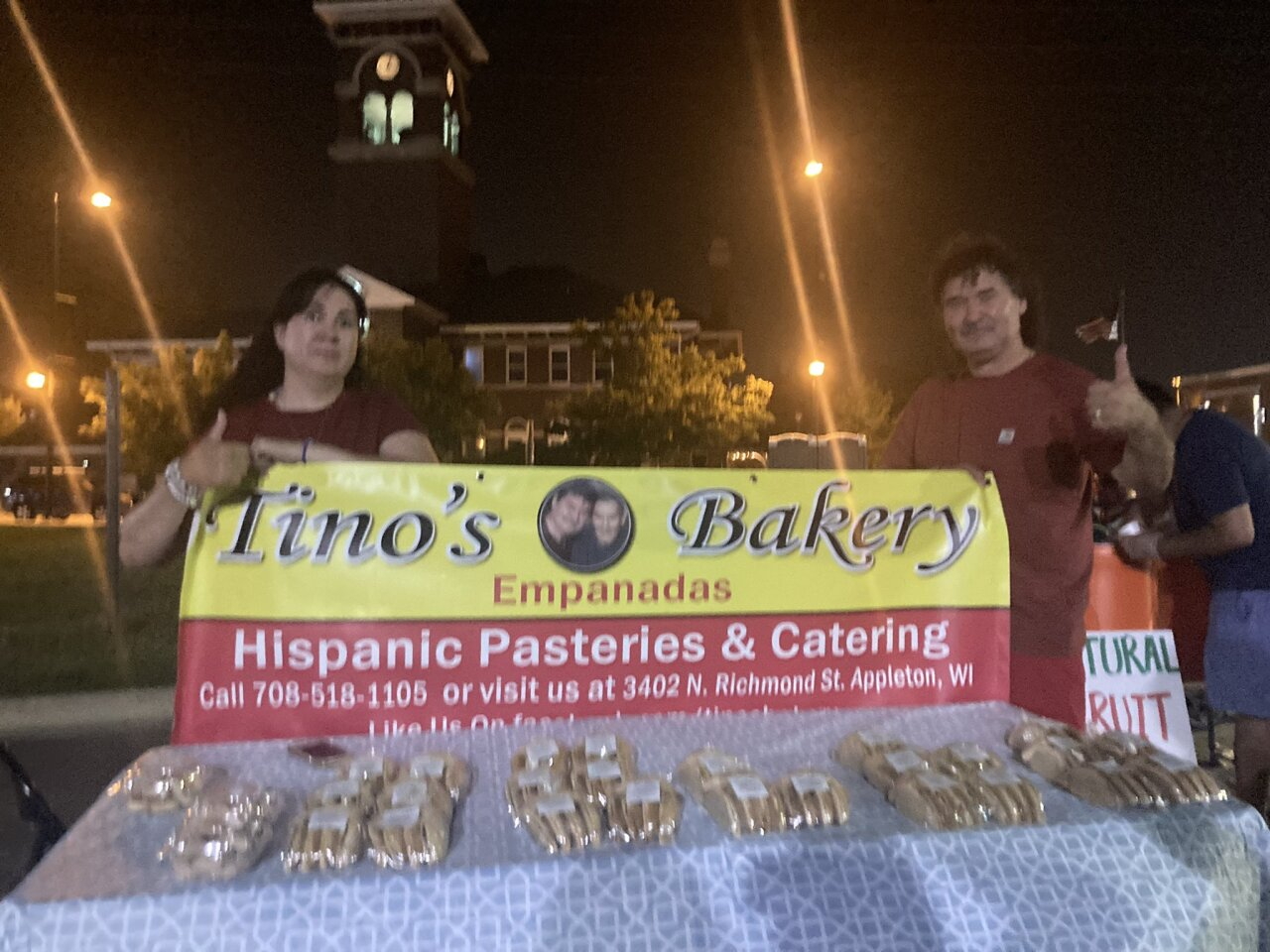 'A sweet taste of authenticty': Tino's Bakery returns to Northeast Wisconsin farmers markets this summer