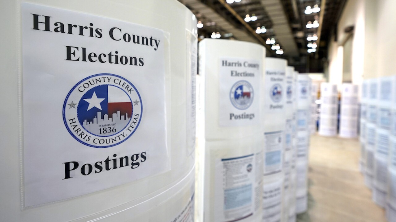 Texas high court denies GOP effort to reject Houston votes