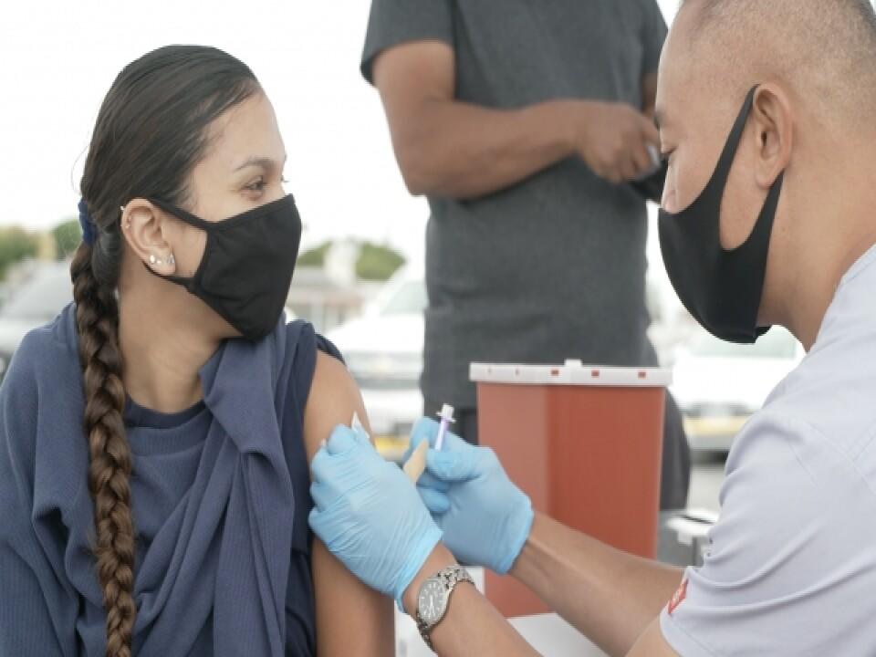 Community Clinics Work To Get Vaccine-Hesitant Students, Parents Shots