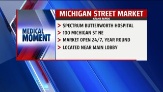 Medical Moment – Michigan Street Market