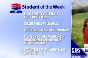 Student of the Week: Sasha Hathaway