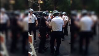 New York mayor calls arrest of deliver worker during curfew 'unacceptable'