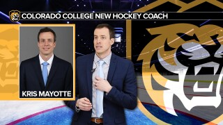 Colorado College tabs Mayotte as next hockey head coach