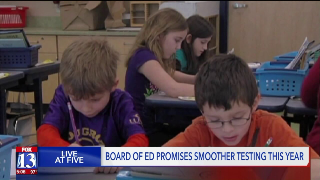 Utah Board of Education promises smoother testing this year
