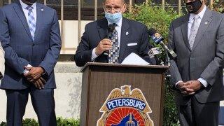 Petersburg Police announcement
