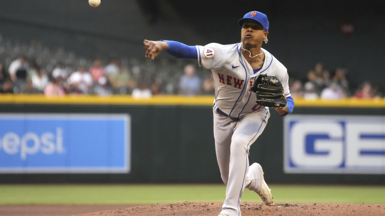 Arizona Diamondbacks broadcaster Bob Brenly issued an apology for a comment about New York Mets pitcher Marcus Stroman's head covering that the right-hander said had racist undertones. AP photo.