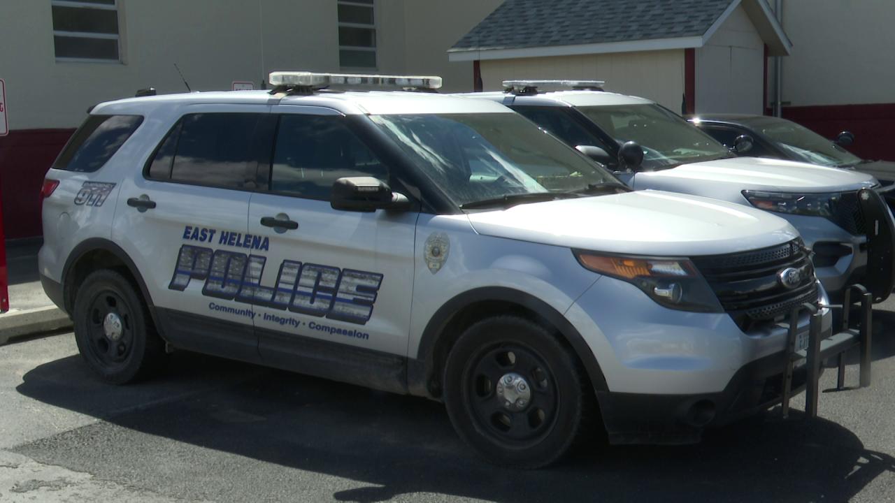 East Helena Police Vehicle
