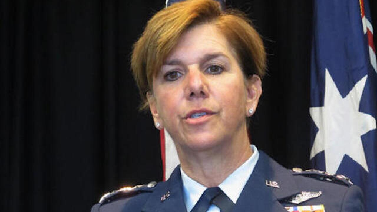 Top-tier US combat command has first woman
