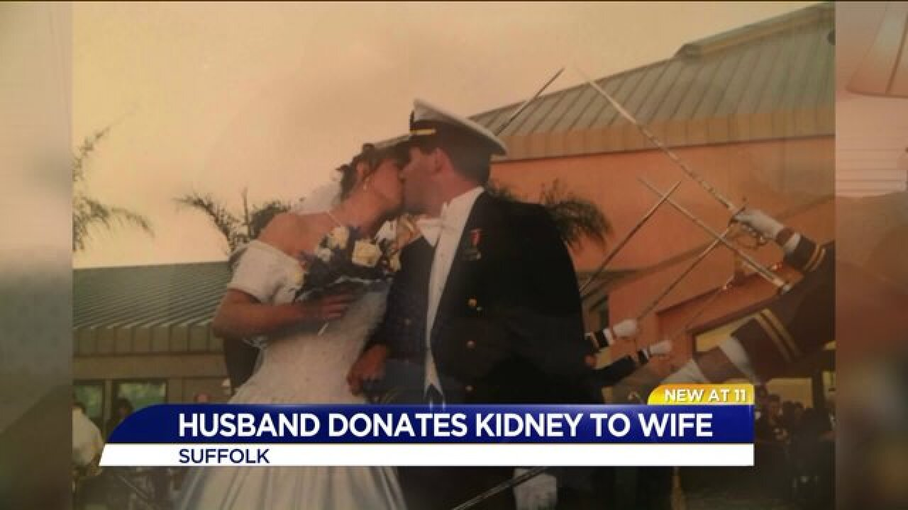 Suffolk husband gives wife the gift of life by donating hiskidney