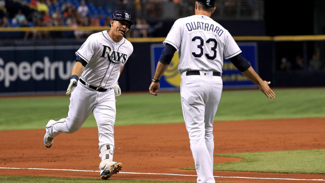 Wilson Ramos hits 3-run homer, Rays beat Tigers