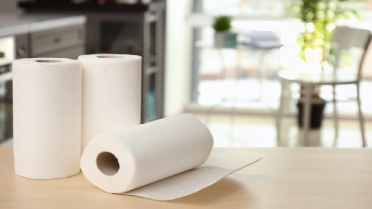 Store Paper Towels Out Of Sight With Simple Trick