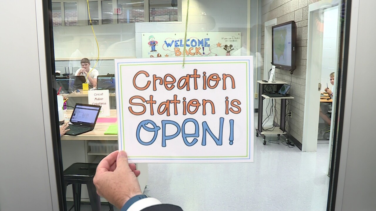 How Louisa Middle School's 'Creation Station' can help students land the jobs of the future