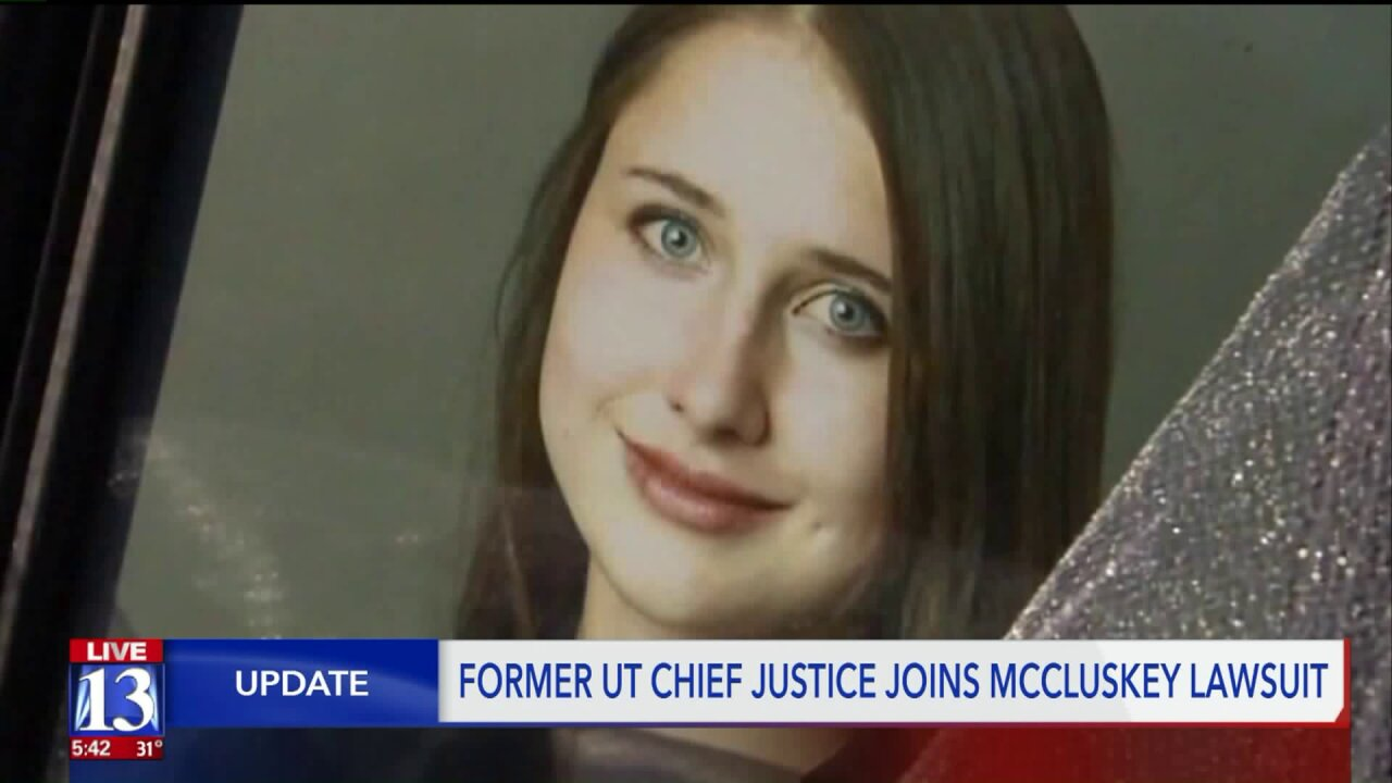 Former State Supreme Court Chief Justice to join lawsuit over Lauren McCluskey'sdeath