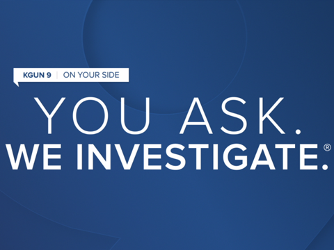 PROMO - YOU ASK. WE INVESTIGATE.