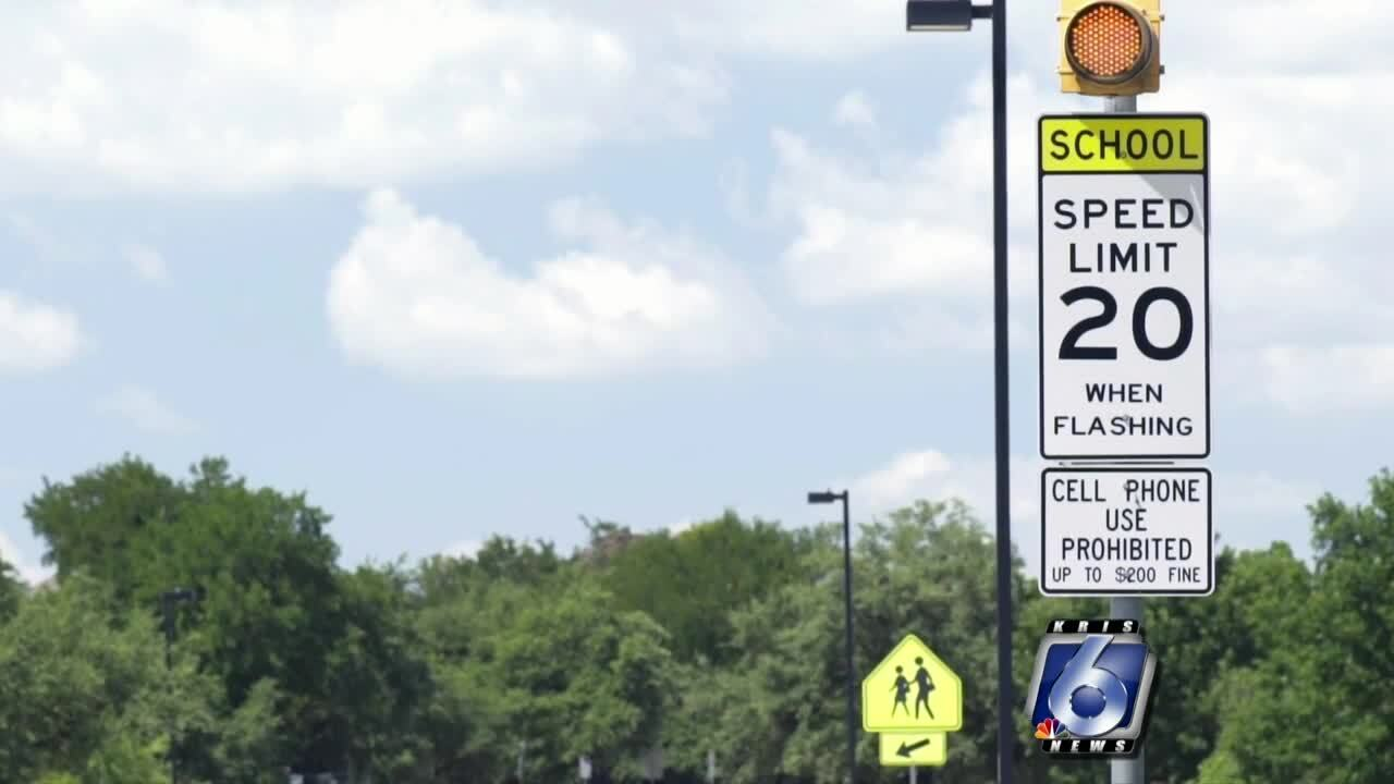 School traffic zone