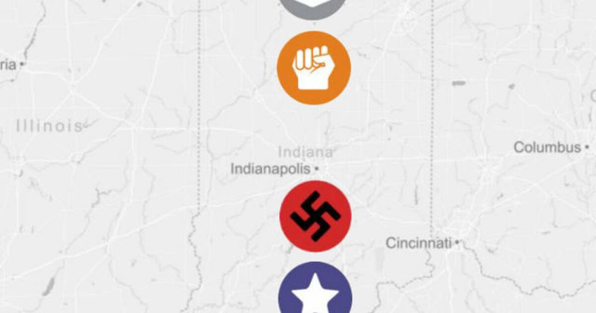 These are the groups operating in Indiana on black map, cia map, iran map, compromise of 1877 map, aryan nation map, ccc map, lord's resistance army map, prohibition map, klan map, history map, hate groups map, korel map, brookhaven ms map, jesus map, kos map, slavery map, nation of islam map, republican democrat map, lynching map, planned parenthood locations map,