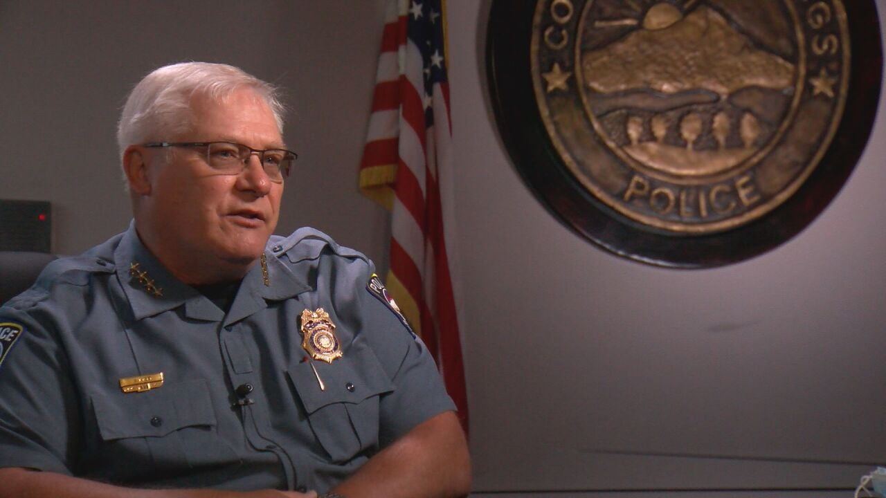 EXCLUSIVE: CSPD Chief addresses topics related to protests