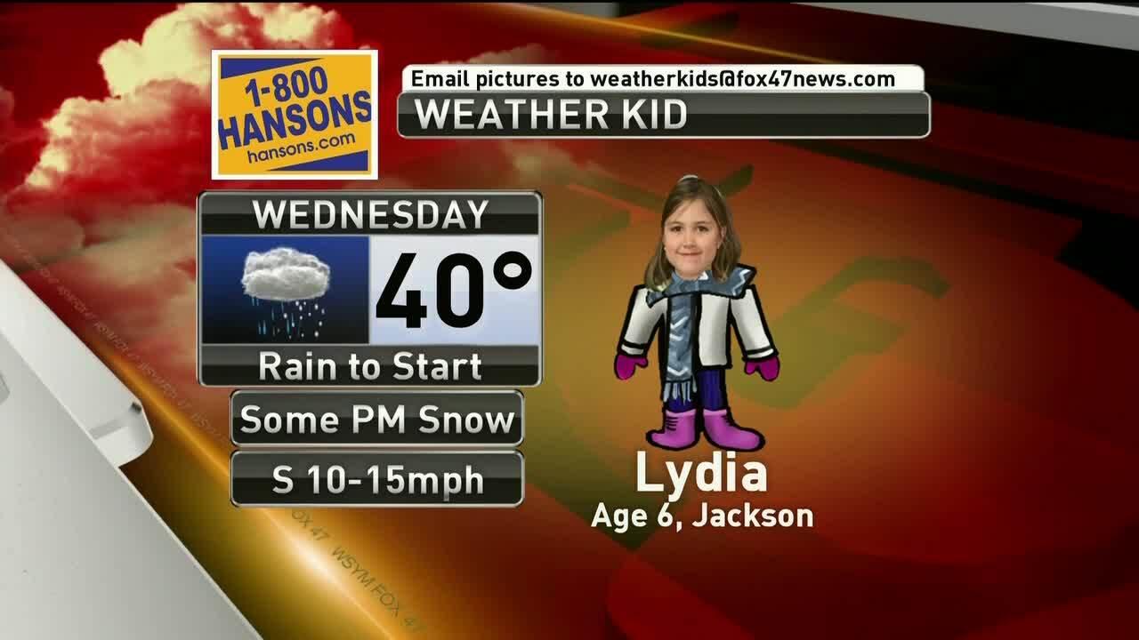 Weather Kid - Lydia - 1-22-19