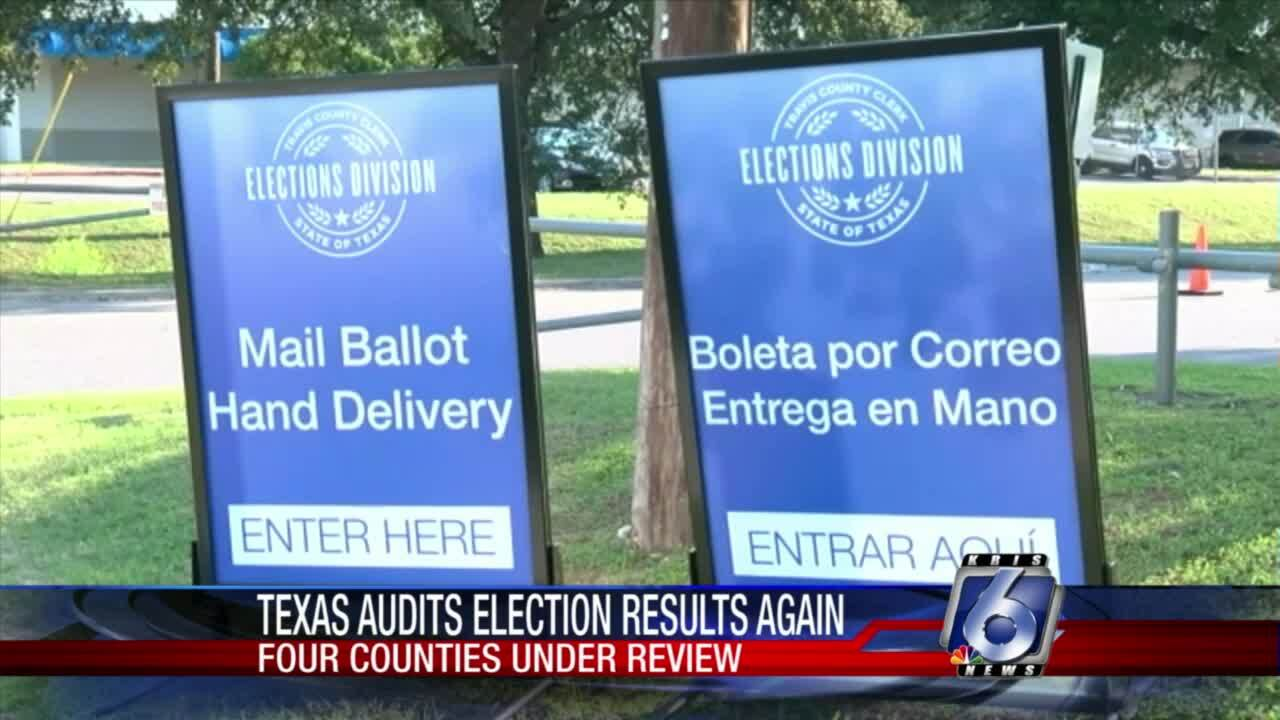 Texas Secretary of State announced 2020 election audit